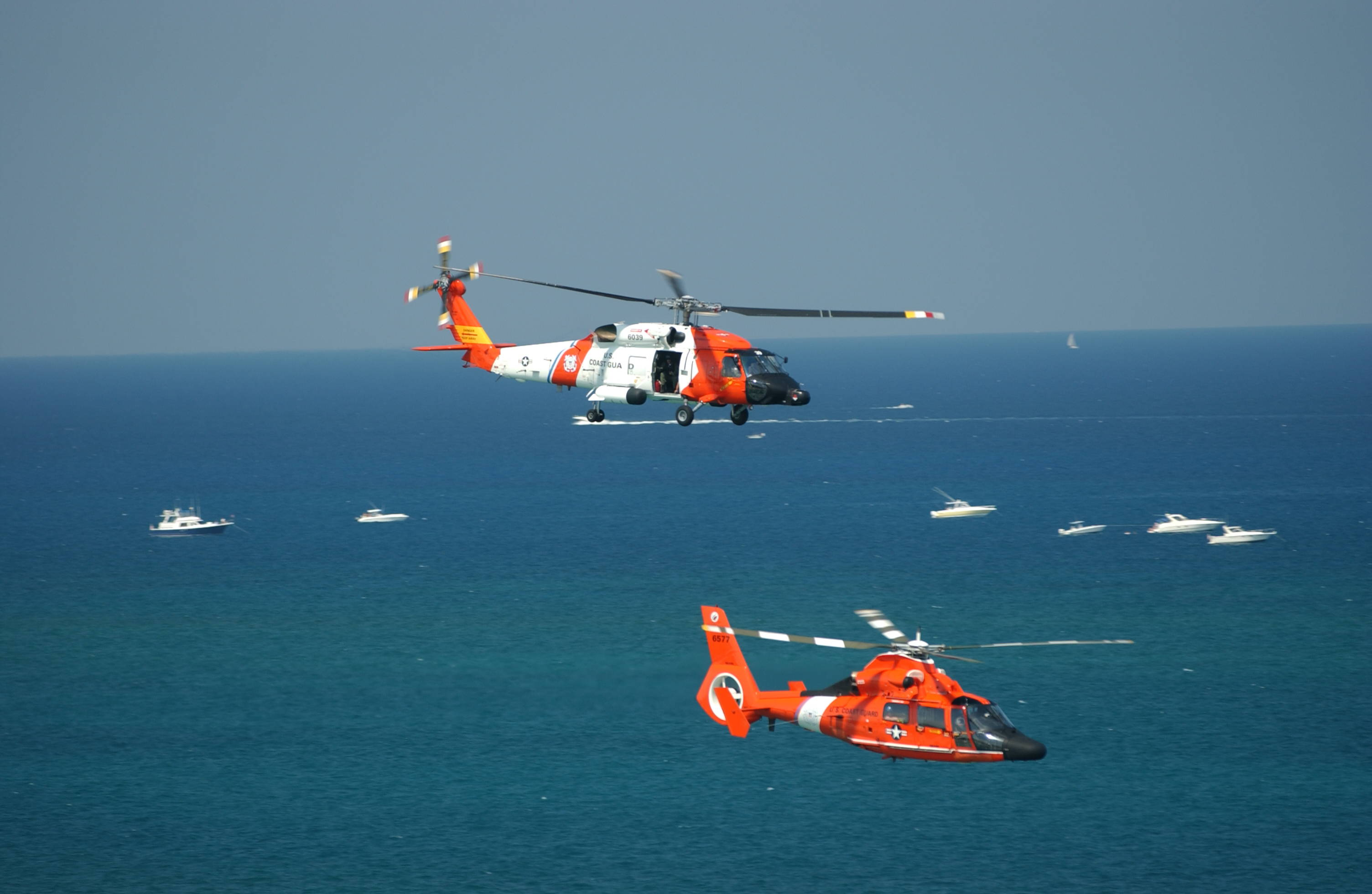 Search Continues For 3 Missing Coast Guardsmen After Helicopter
